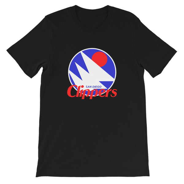 cool san diego los angeles clippers nba basketball awesome black t-shirt