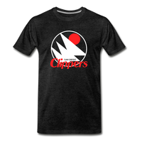 San Diego Clippers Royal Blue Unisex T-Shirt - charcoal gray