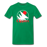 San Diego Clippers Royal Blue Unisex T-Shirt - kelly green