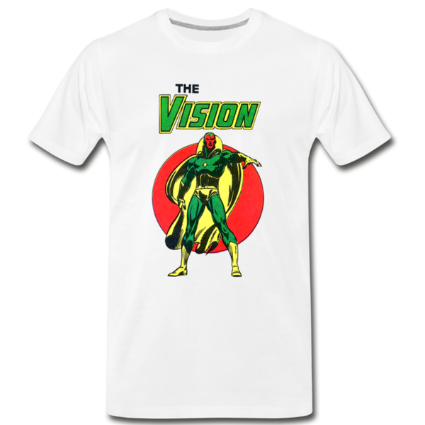 The Vision Unisex T-Shirt - white