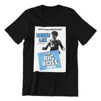 the big boss cool martial arts movie poster black unisex t shirt