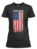 Short sleeve women's Born Free II t-shirt