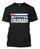 Short-Sleeve Colorado Skyline T-Shirt