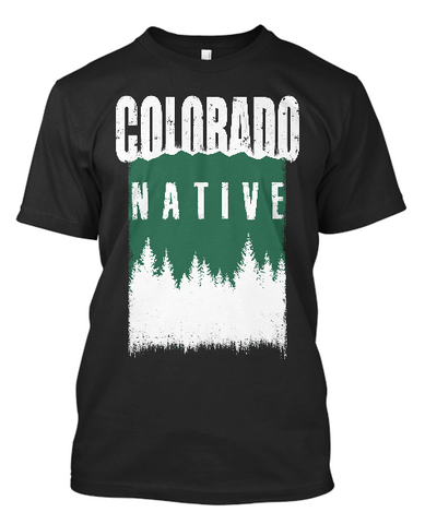 Short-Sleeve Colorado Native Outdoors T-Shirt
