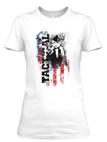 Women's short sleeve Tactical Girl t-shirt