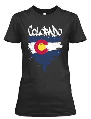 Women's short sleeve Colorado t-shirt