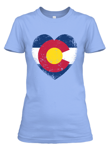 Women's Colorado Love short sleeve t-shirt