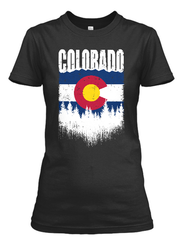 Women's Colorado Outdoors short sleeve t-shirt