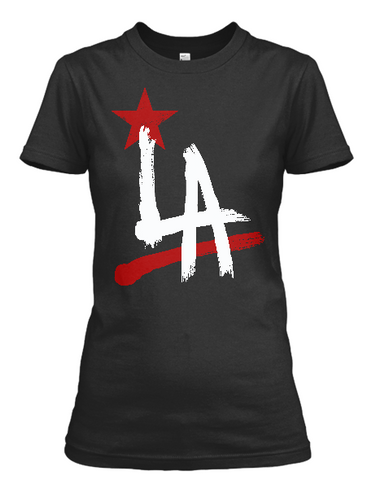 Women's LA California short sleeve t-shirt