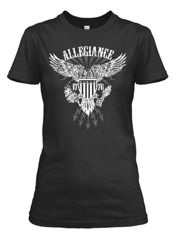 Women's White Hot Allegiance short sleeve t-shirt