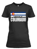 Women's Colorado Skyline short sleeve t-shirt