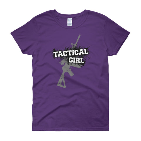 Women's short sleeve Tactical Girl AR t-shirt