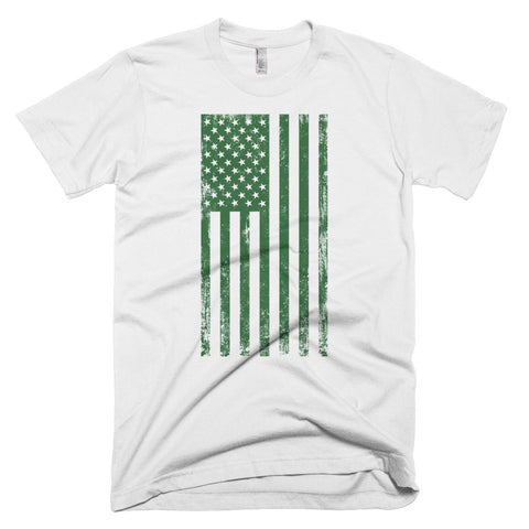 Short-Sleeve Green Old Glory T-Shirt