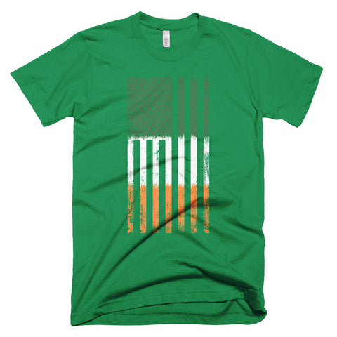 Short-Sleeve Old Glory Irish American T-Shirt