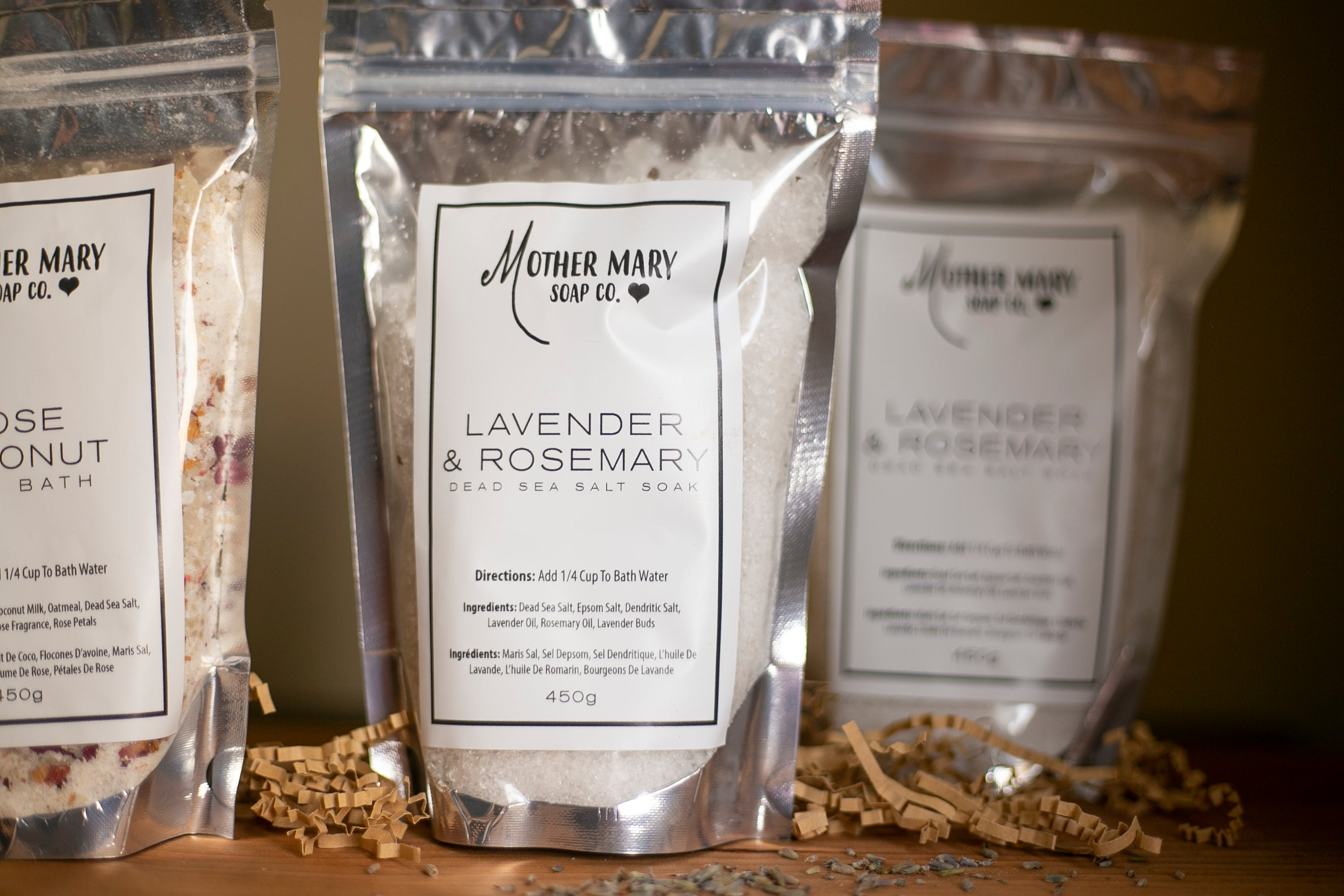 Lavender and Rosemary Bath Salts