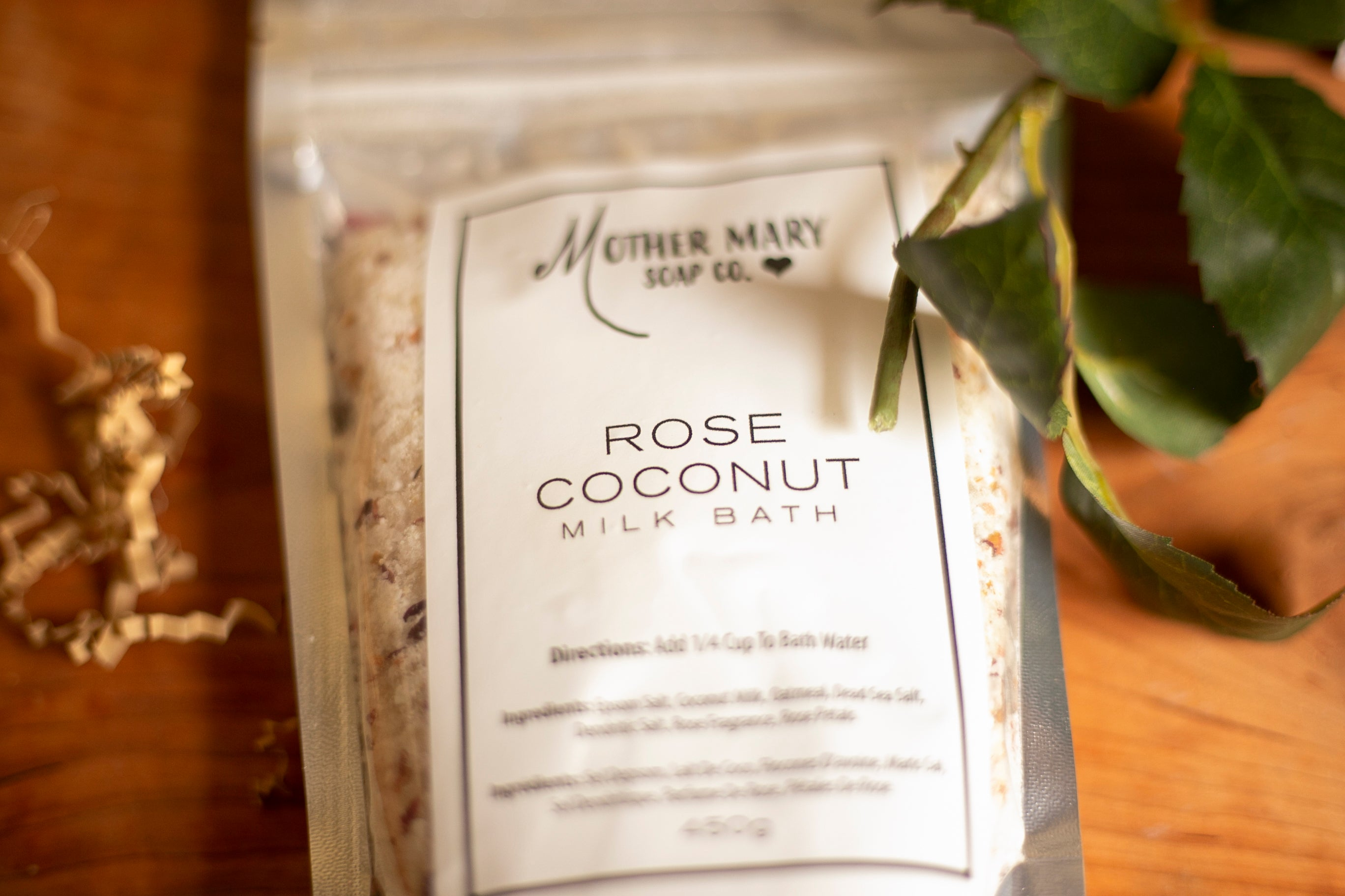 Rose Coconut Milk Bath