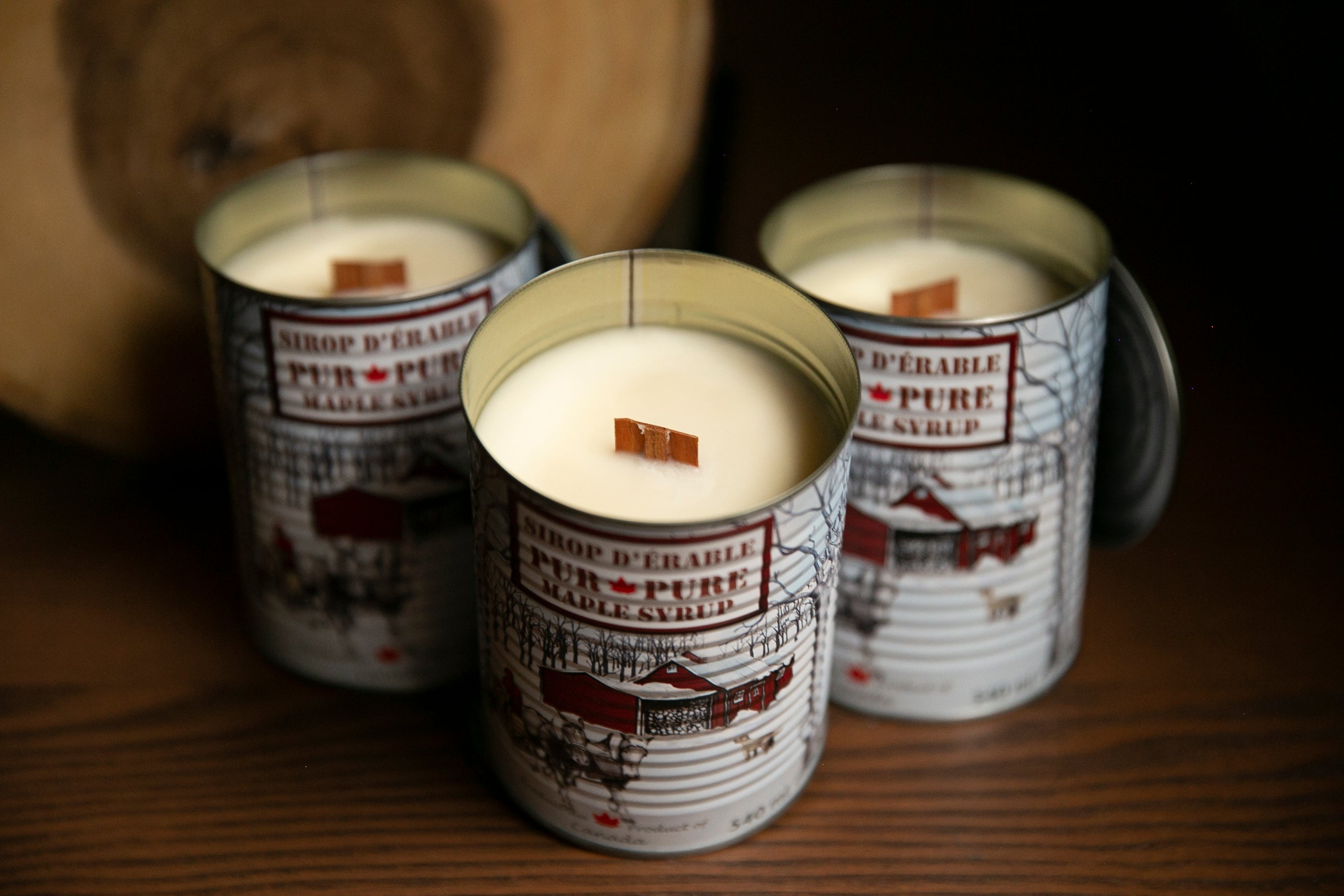 Canadian Maple Syrup Candle