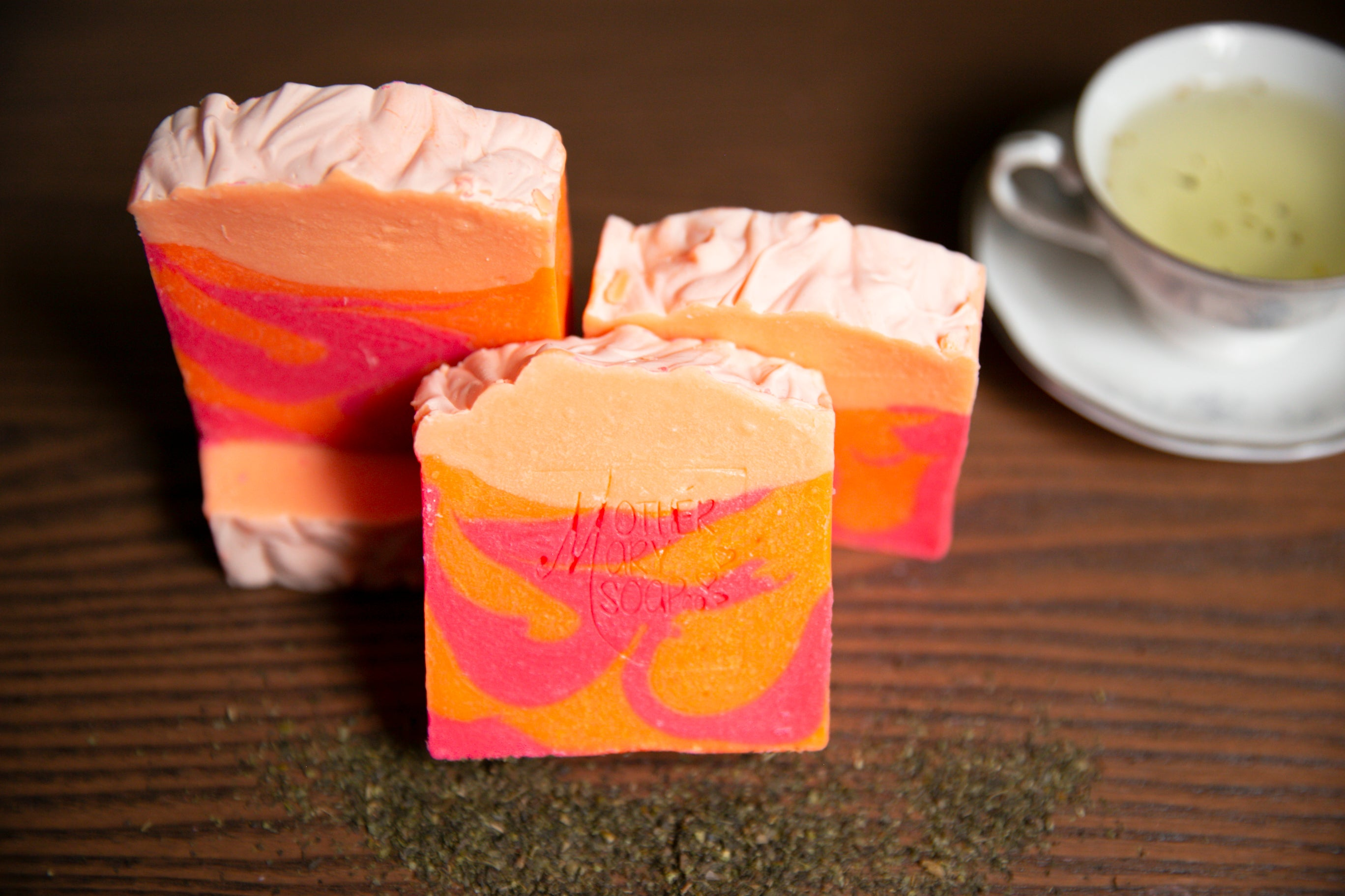 Grapefruit and Green Tea Soap