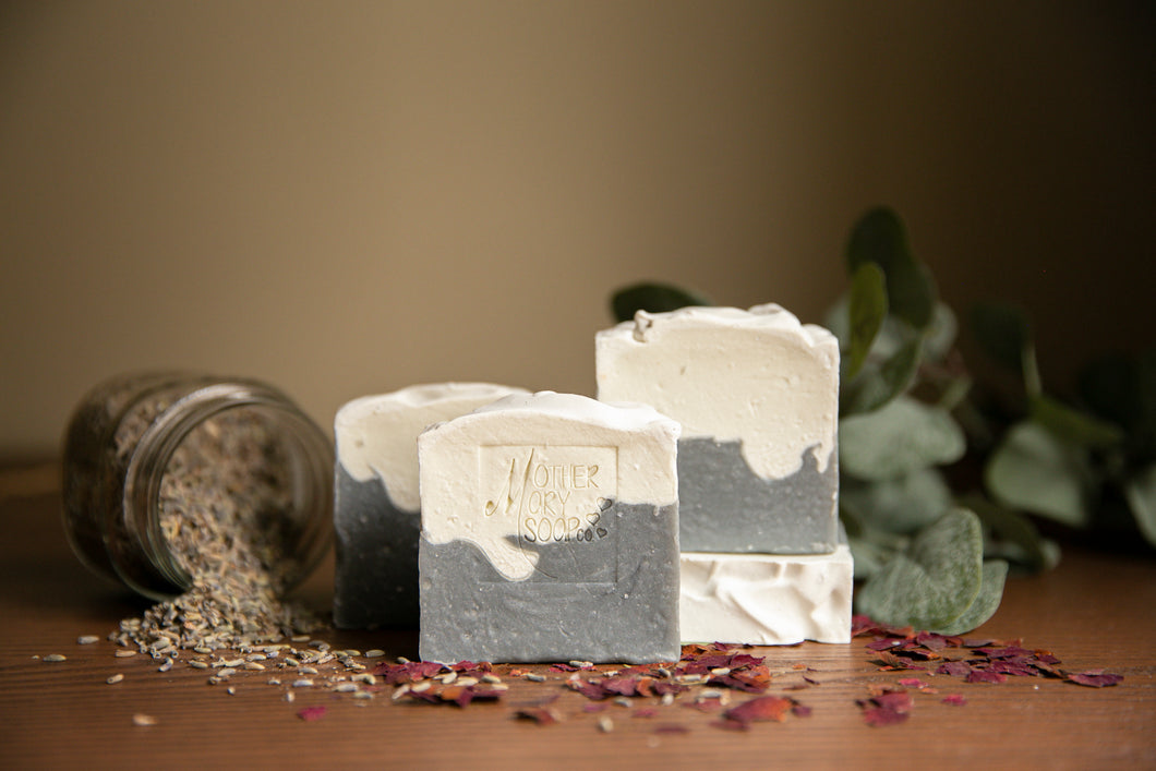 Rose, Lavender and Eucalyptus Soap