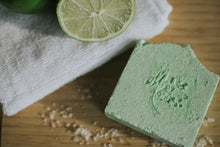 Lime and Sea Salt Soap - Mother Mary Soap Company