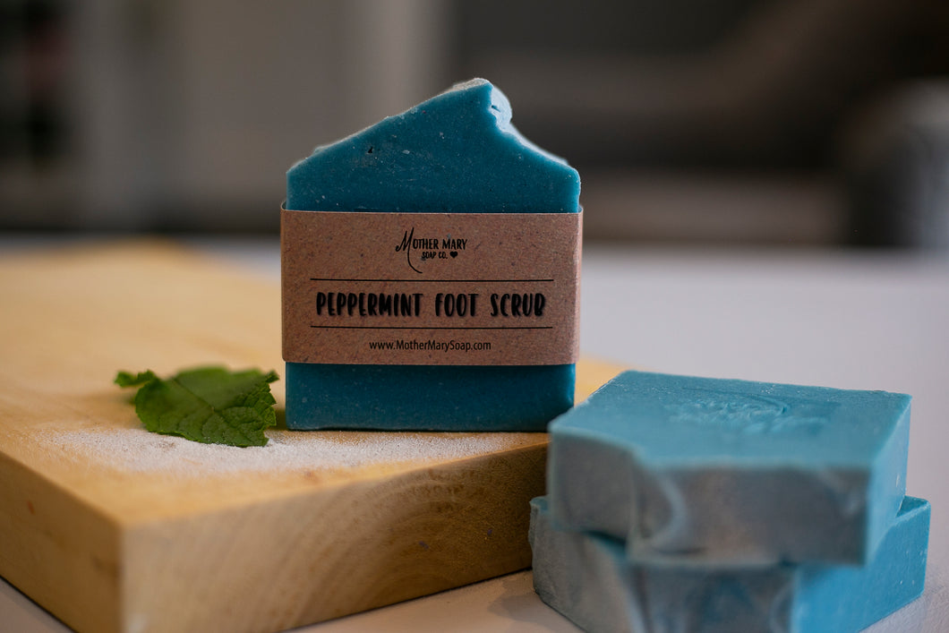 Peppermint Foot Soap - Mother Mary Soap Company