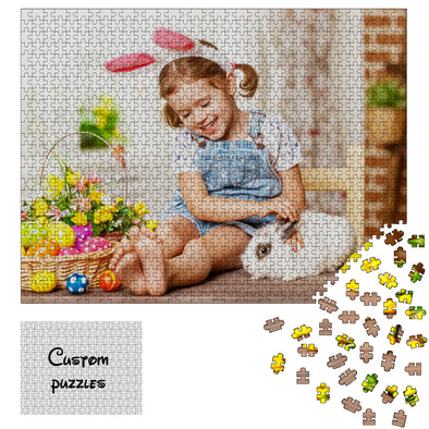 1000 Piece Photo Puzzle Jigsaw from Photos for Adults Teen Kid