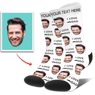 Photo Socks Personalized Funny Socks With Photo,Put Your Photo into Socks