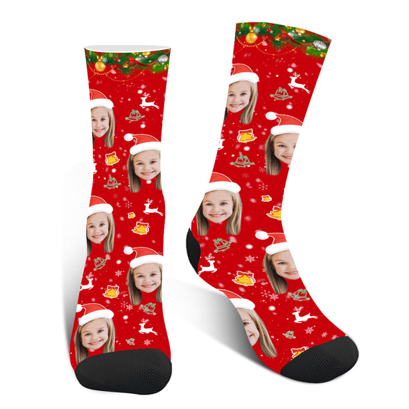 Personalized  Christmas Socks with Photo - amlion