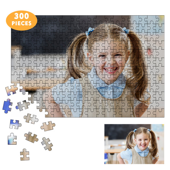 300 Piece Custom Puzzles Jigsaw from Photos for Adults Teen Kid, Personalized Puzzle