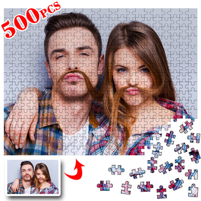 500 Piece Custom Jigsaw Puzzles for Adults Kid from Photos,Personalized Puzzles