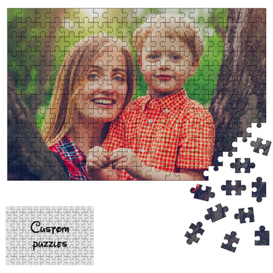 300 Piece Custom Puzzles Jigsaw from Photos for Adults Teen Kid