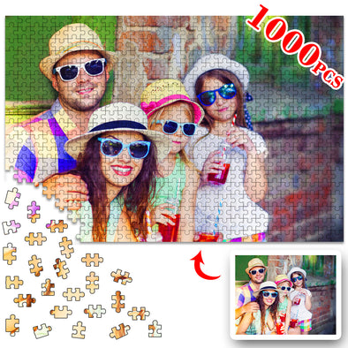 1000 Piece Custom Jigsaw Puzzles for Adults Kid from Photos,Personalized Picture Puzzle