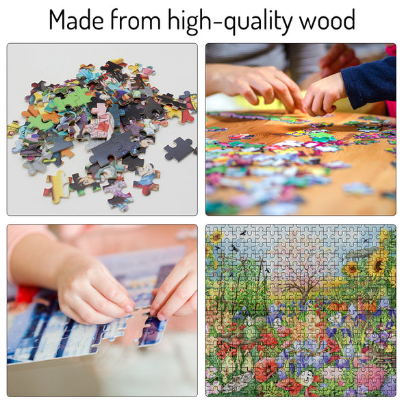 500 Piece Custom Puzzles Jigsaw from Photos for Adults Teen Kid, Personalized Puzzle