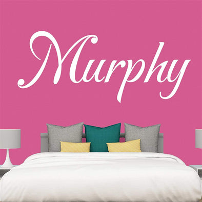 "Custom Personalized Name Wall Decal Stickers Art for Baby Girls Boys Bedroom (SIZE: 16"" Wide by 10"" High)"