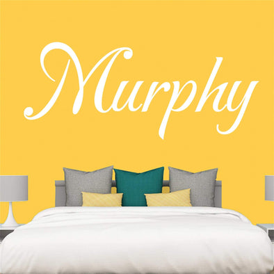"Custom Personalized Name Wall Decal Stickers Art for Baby Girls Boys Bedroom (SIZE: 28"" Wide by 21"" High)"