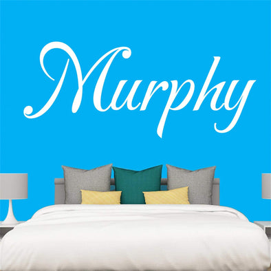 "Custom Personalized Name Wall Decal Stickers Art for Baby Girls Boys Bedroom (SIZE: 40"" Wide by 29"" High)"