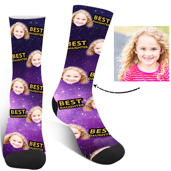 "Custom Photo ""Best""Printed Socks For Men And Women - amlion"