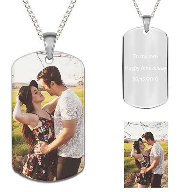 Custom Photo Necklace,Heart Necklaces for Women,Keychain Ring Personalized Gifts