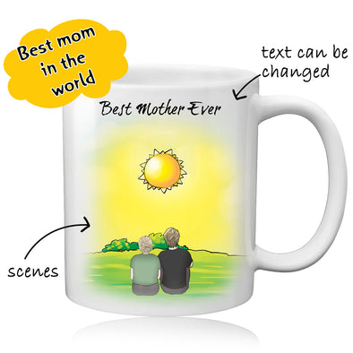 Personalized Coffee Mug for Mother - amlion