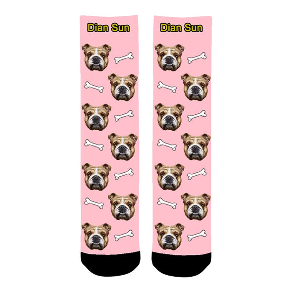 Photo Socks Personalized Face Funny Socks With Photo,Custom Face Socks for Men and Women - amlion