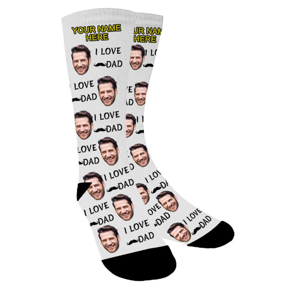 Photo Socks Personalized Funny Socks With Photo,Put Your Photo into Socks - amlion