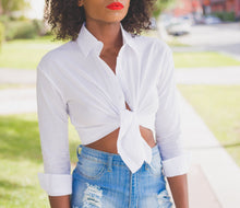 Classic Fit White Button Shirt