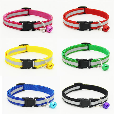 Brand Reflective High Quality Nylon Cat Collar