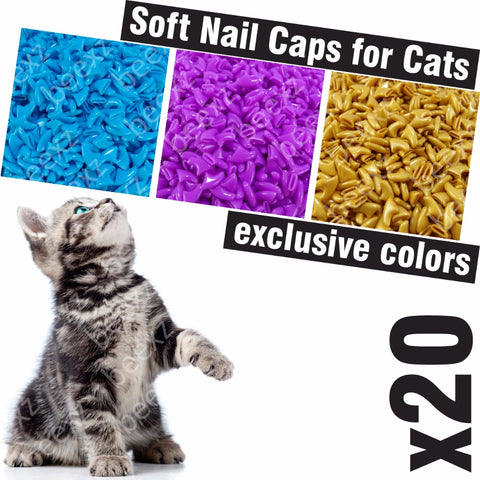 Soft Nail Caps for Cats