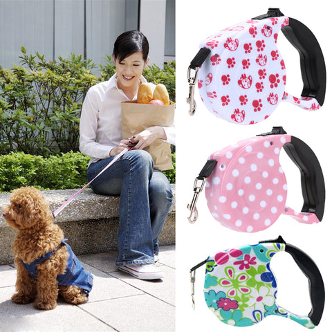 5 M Pet Dog/Cat Puppy Automatic Retractable Pet Traction Rope