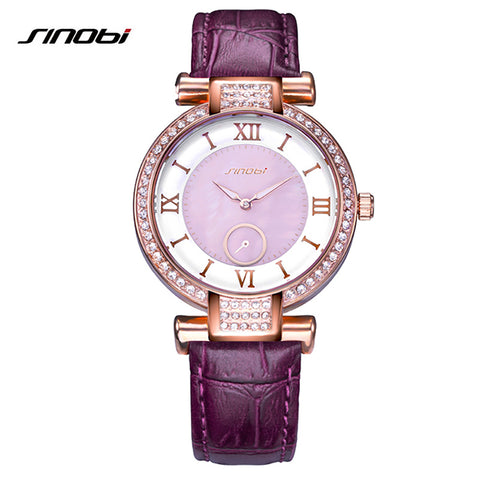 Colorful Diamond Watch for Women