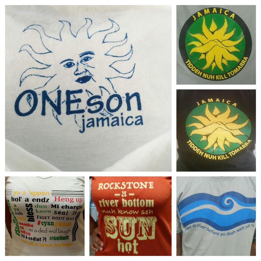 Jamaica T-Shirt - 'Rockstone'  (Male)
