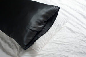 Minimal Pillow Slip - Slate Grey | Pillow Case| Made in Australia