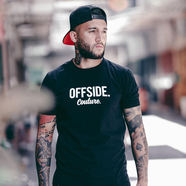 OFFSIDE COUTURE T Black