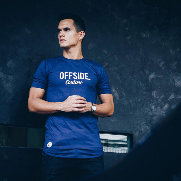 OFFSIDE COUTURE T Blue Ink